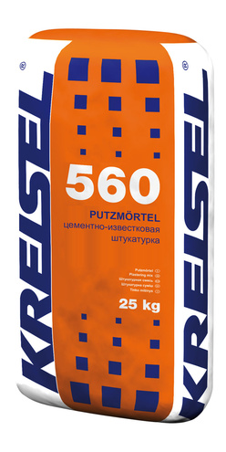 Штукатурная смесь PUTZMORTEL 560 Kreisel
